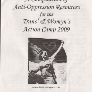 Anti-Oppression Zine