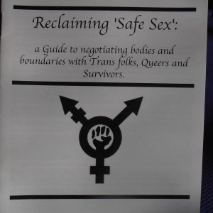Reclaiming Safer Sex Zine