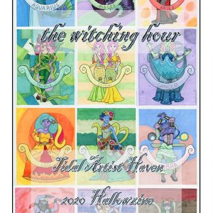 the witching hour Hallowzine