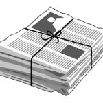 pic of stack of newspapers